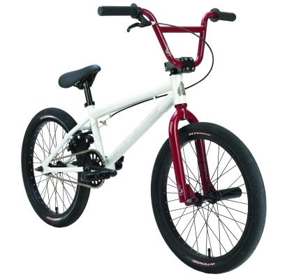 XTREME Recreation: Dudley White Red, BMX Dirt Jump Bikes